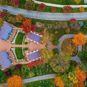 Cemetery Aerial